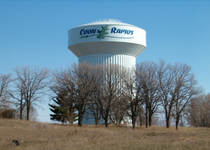 Coon Rapids Water Tower