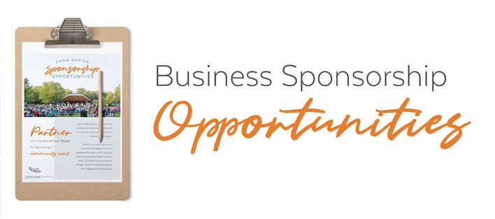 Business Sponsorship Opportunities