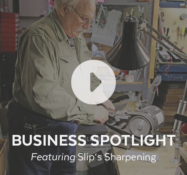 Business Spotlight featuring Slip's Sharpening